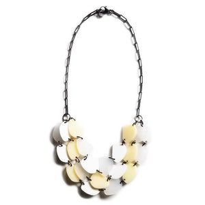 Silvercocoon STONE21 Necklace – White