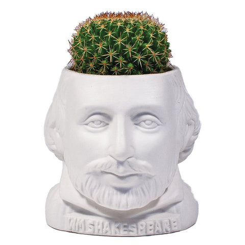 Shakespeare Fertile Minds Ceramic Planter Pot