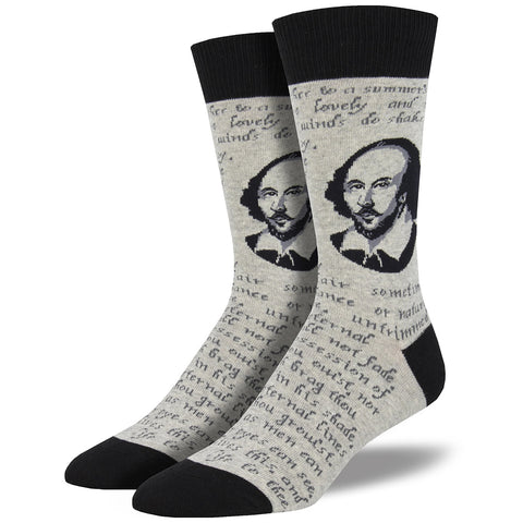 Shakespeare Sonnet Socks