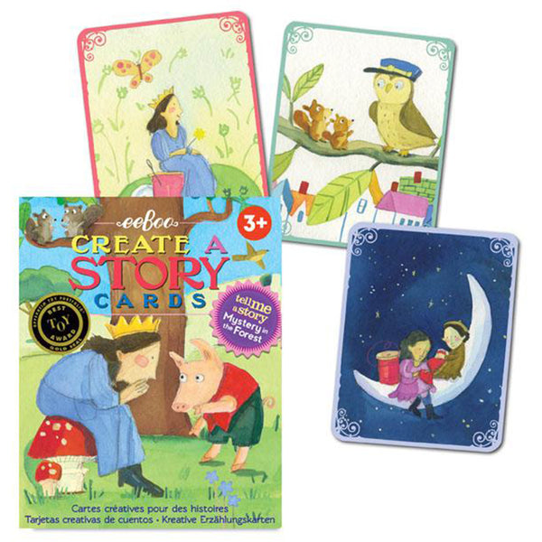 Create a Story Cards: Mystery in the Forest