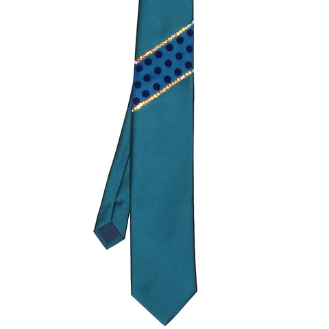 Costume Fabric Tie – Teal