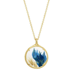 Small Winter Botanical Necklace – Winter Dreams