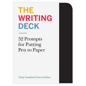 The Writing Deck: 52 Prompts for Putting Pen to Paper