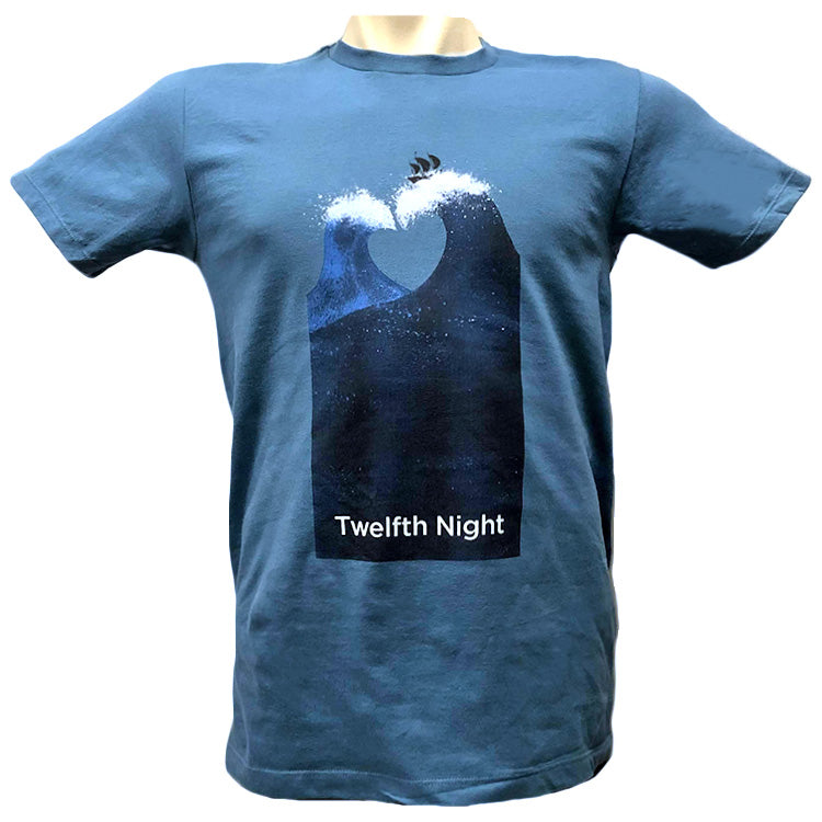 Twelfth Night Show Art Short Sleeve T-shirt - Adult