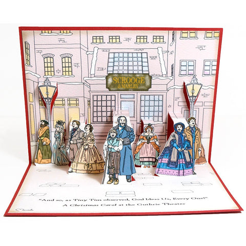 A Christmas Carol Pop-Up Card