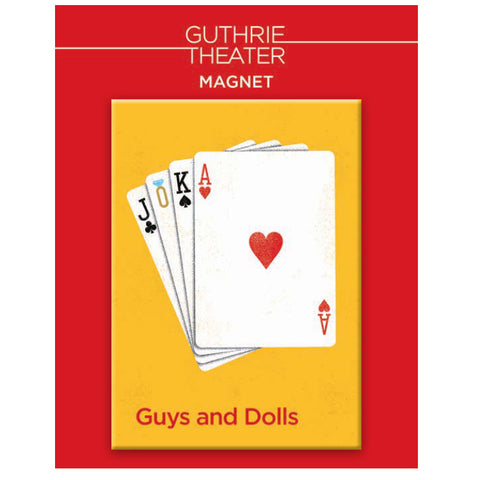 Guys and Dolls Magnet - Show Art