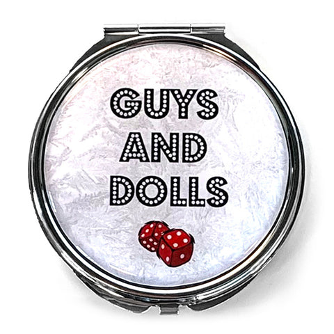 Guys and Dolls Mirror - Title