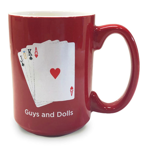 Guys and Dolls Mug - Show Art
