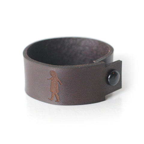 To Kill a Mockingbird Scout Leather Bracelet