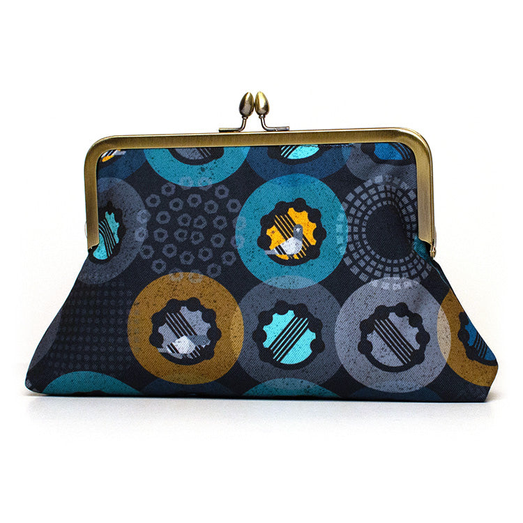 Pigeons and Tambourines Clutch Purse