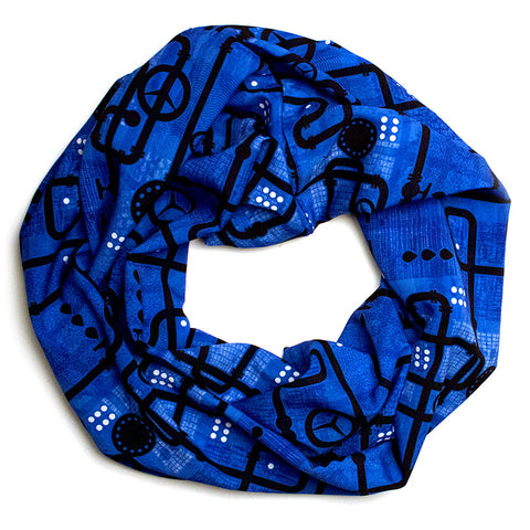 Hideout Small Loop Scarf