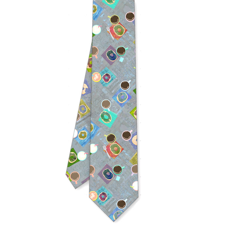 Coffee Buzz Tie