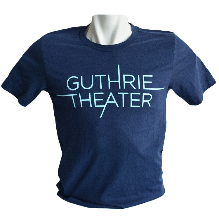 Guthrie Logo Short Sleeve T-shirt Navy - Adult