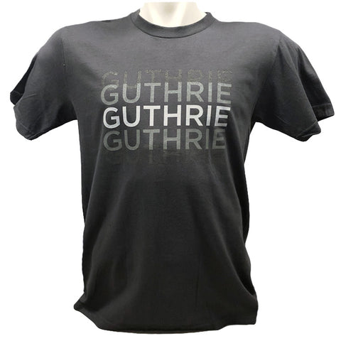 Guthrie Triprint Short Sleeve T-shirt Asphalt - Adult