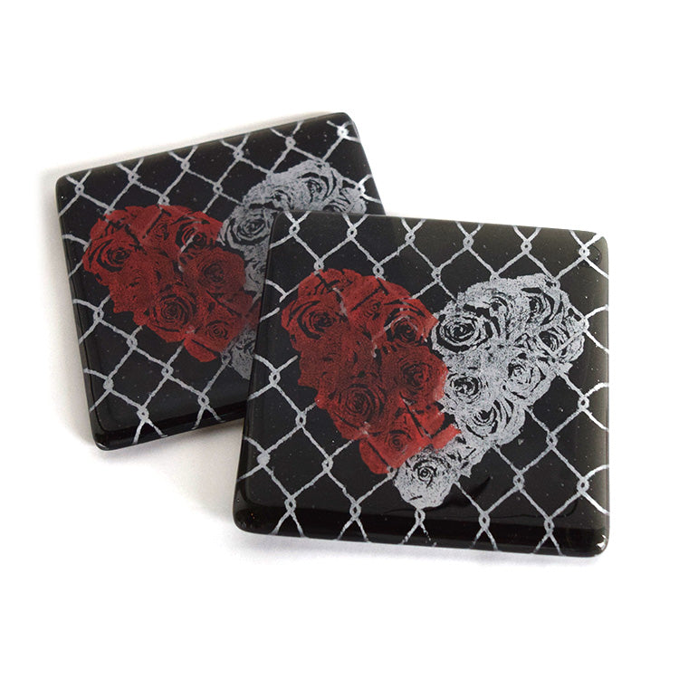 West Side Story Glass Coaster Set