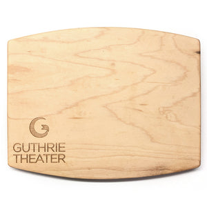 Guthrie Logo Wood Cheese Board