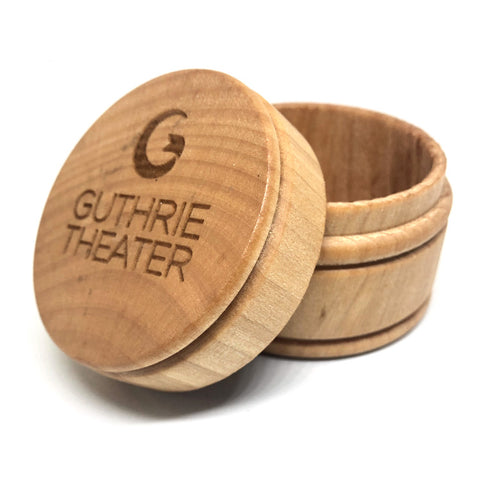 Guthrie Logo Wood Box