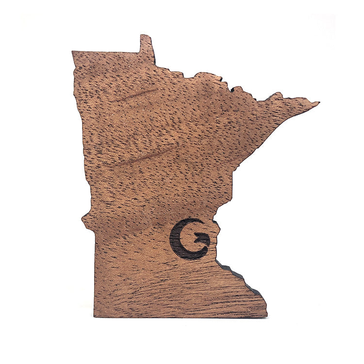 "Minnesota ""G"" Wood Magnet"