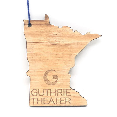Guthrie Logo Wood Ornament