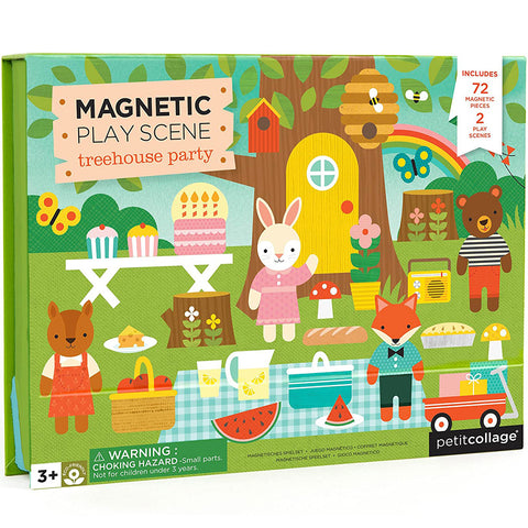 Treehouse Party Magnetic Play Scene