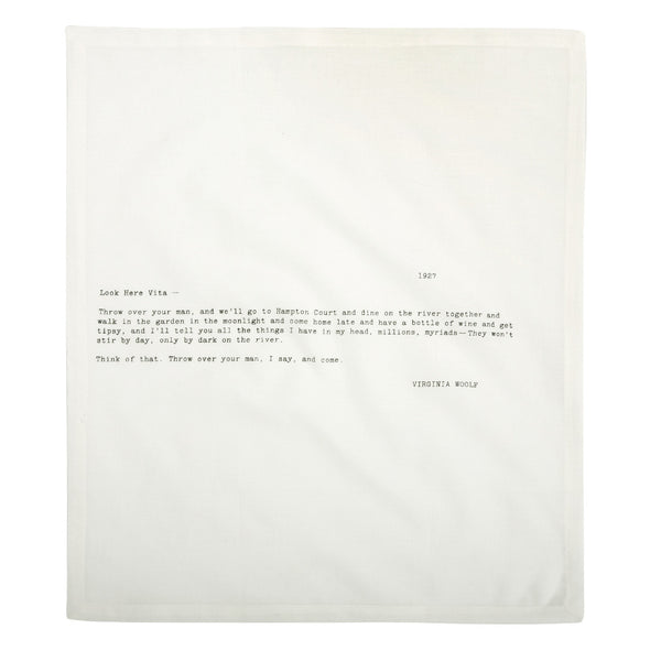 Love Letter Napkins – Set of 4
