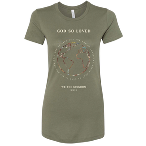 GOD SO LOVED - LADIES TEE