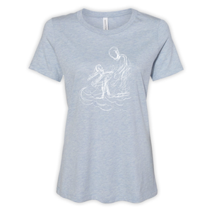 DANCING ON THE WAVES - LADIES TEE