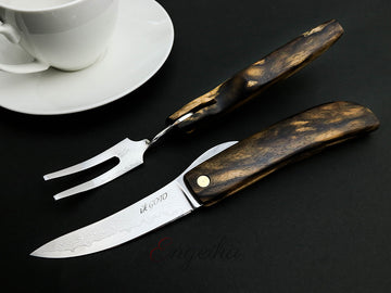 Goto Folding Knife & Fork Set - Kurogaki