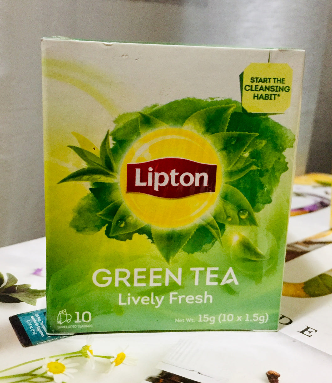 Lipton Fresh Green tea 10's