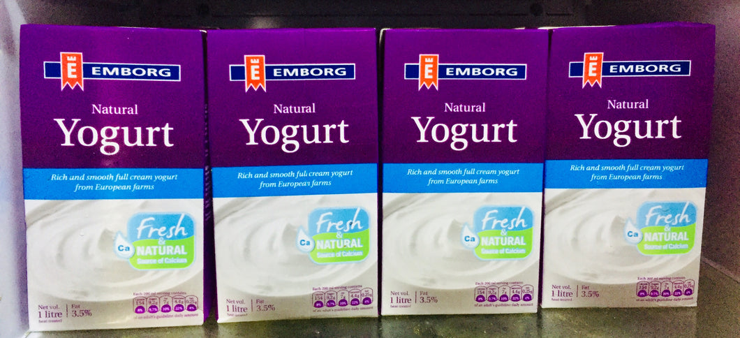 Emborg Yogurt Natural 1L