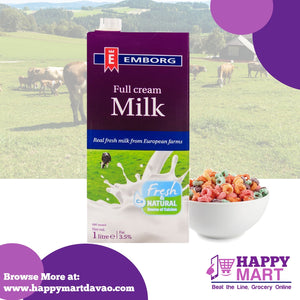 Emborg Full Cream Milk 1L