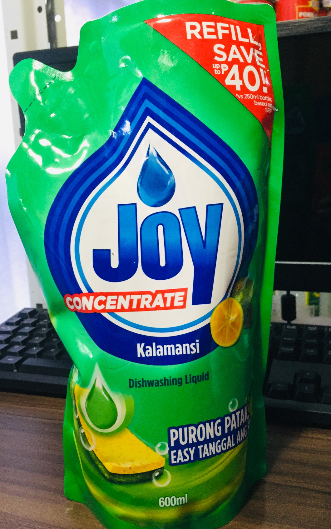 Joy Dishwashing Lemon 600 ml