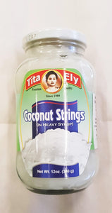 Coconut Strings preserve 230g (for halo halo)