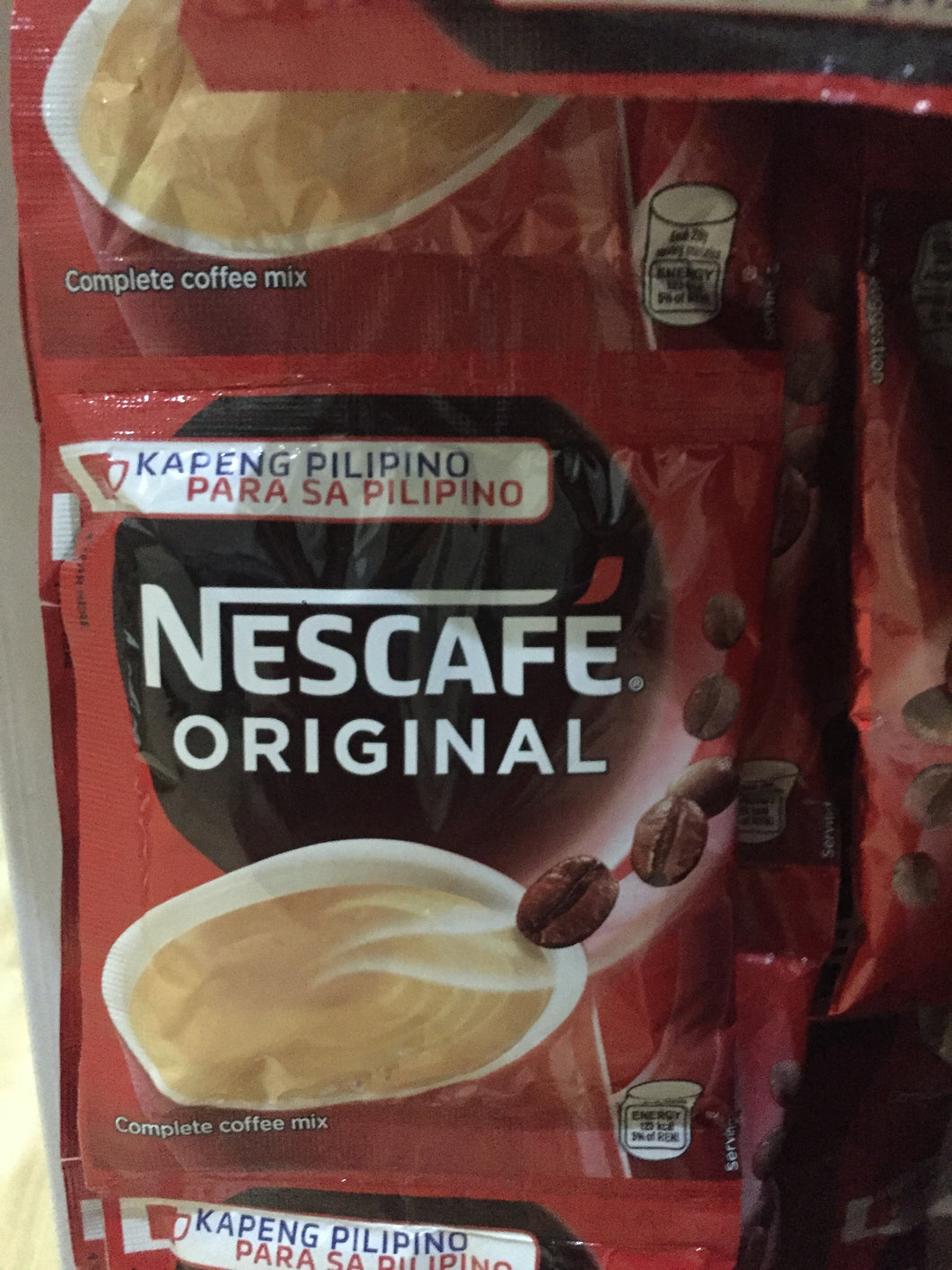 Nescafe Original 3in1 single