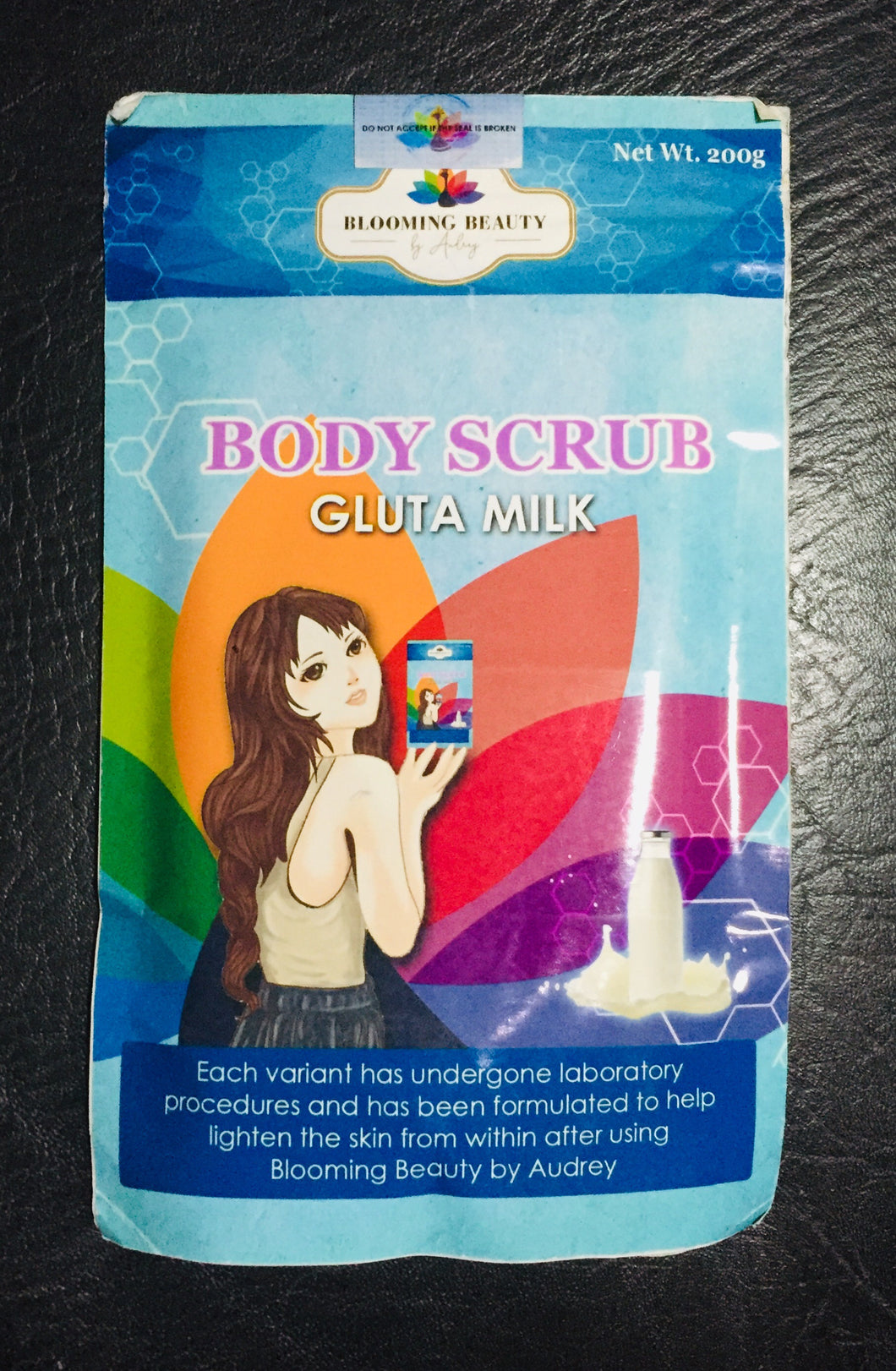 Blooming Beauty Body Scrub Gluta Milk 200g