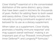 Load image into Gallery viewer, Young Living CLOVE Vitality Oil 5ml