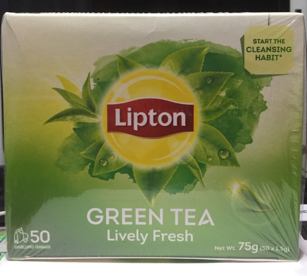 Lipton Fresh Green Tea 50's