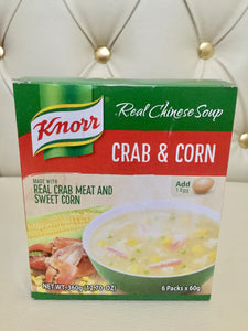 Knorr Crab & Corn soup mix 60g