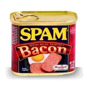 Spam Bacon 340g