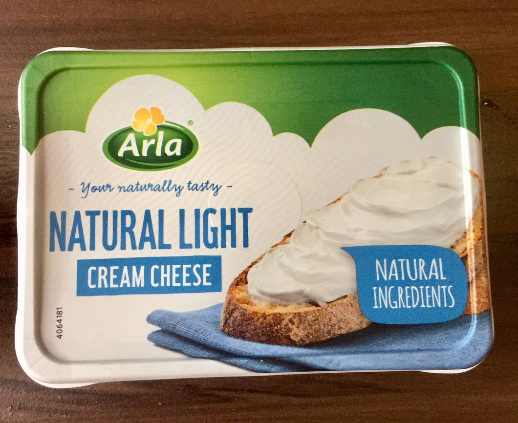 Arla cream cheese natural light 150g