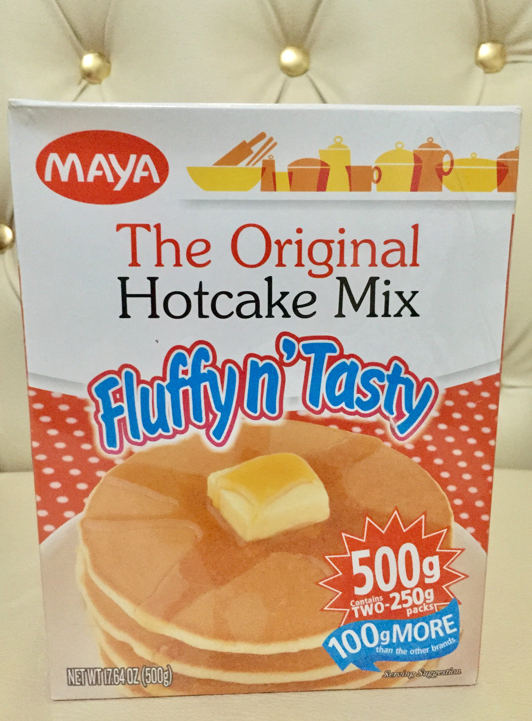 MAYA HOT CAKE MIX  Fluffy n' Tasty 500g