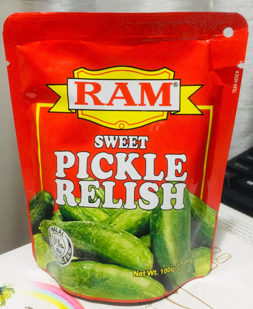 Ram Sweet Pickle Relish 100g Happy Mart Online Grocery Davao