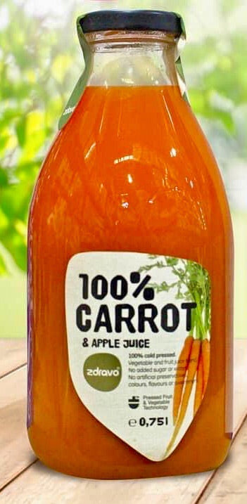 Zdravo Carrot & Apple Juice