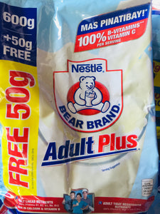 Bear Brand Adult Plus 600g