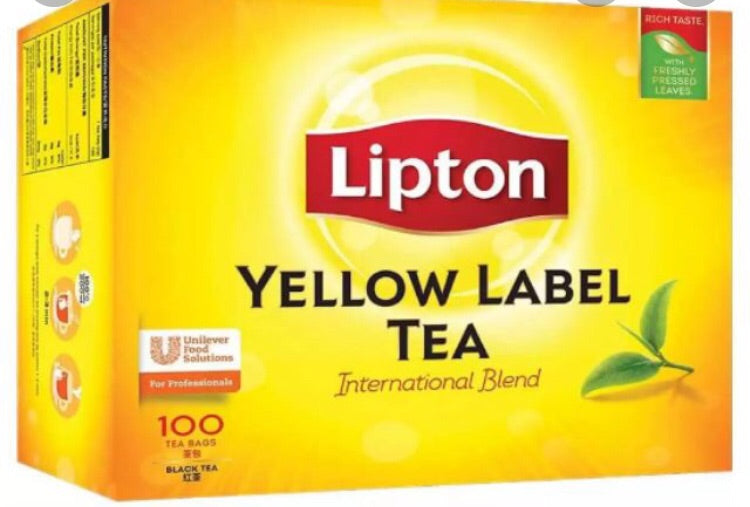 Lipton Yellow Label Black tea 50's
