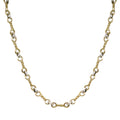 Tat2 Gold Twist Link Necklace