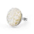 Stephen Dweck Carved Mother of Pearl Oval Ring