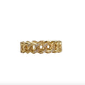 Tat2 Gold Mini Catena Ring