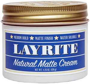 Layrite- Natural Matte Cream