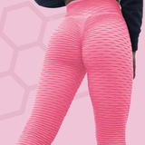 Legging anti-cellulite push-up rose